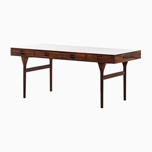 Dänischer Schreibtisch aus Palisander von Nanna Ditzel für Søren Willadsen, 1950er
