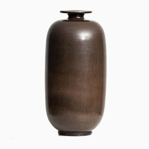 Swedish Ceramic Vase by Berndt Friberg for Gustavsberg, 1956