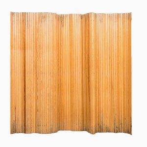 Biombo de pino de Alvar Aalto para Artek, años 40