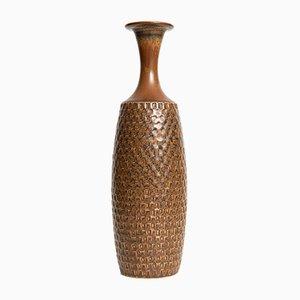 Vaso in ceramica di Stig Lindberg per Gustavsberg, Svezia, 1962