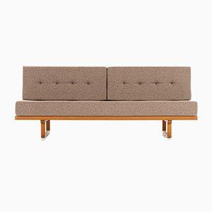 Sofá o sofá cama modelo 4311/4312 danés de Børge Mogensen para Fredericia, años 50