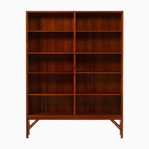 Danish Bookcases by Børge Mogensen for C.M. Madsen, 1950s, Set of 2