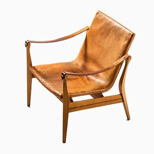 Lounge Chairs by Karen & Ebbe Clemmensen for Ludvig Pontoppidan, 1959, Set of 2