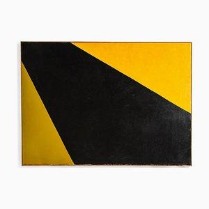 Grande Peinture à l'Huile par Karl Brücher Henriksen, 1970s