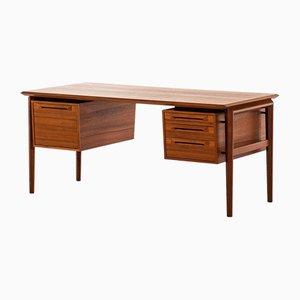 Schwedischer Freistehender Schreibtisch von Ib Kofod-Larsen für Seffle Möbelfabrik, 1950er