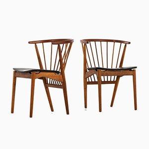 Chaises de Salle à Manger Modèle No. 6 par Helge Sibast pour Sibast Møbelfabrik, 1953, Set de 6