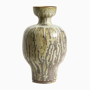 Dänische Keramik Vase von Arne & Jacob Bang, 1943
