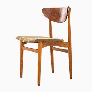 Chaises de Salle à Manger par Henning Kjærnulf pour Sorø Stolefabrik, Danemark, 1950s, Set de 12