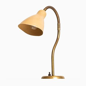 Swedish Table Lamp with Flexible Arm, 1950s