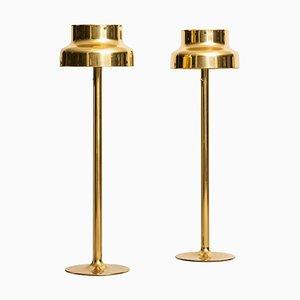 Lámparas de pie Bumling suecas de Anders Pehrson para Ateljé Lyktan, años 60. Juego de 2