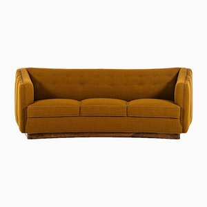 Danish Model 1668 Sofa by Ole Wanscher for Fritz Hansen, 1940s
