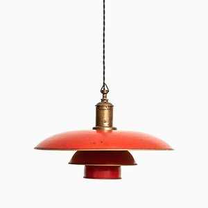 Danish Model PH-4/3 Ceiling Lamp by Poul Henningsen for Louis Poulsen, 1926