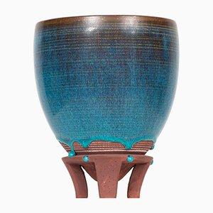 Keramik Modell Farsta Vase von Wilhelm Kåge für Gustavsberg, 1950er