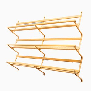 Swedish Wall-Mounted Bookcase by Bruno Mathsson, 1980s