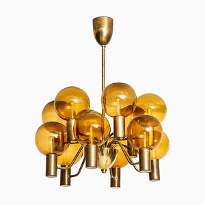 Swedish Model T372 / 12 Patricia Ceiling Lamp by Hans-Agne Jakobsson for Hans-Agne Jakobsson AB, 1950s
