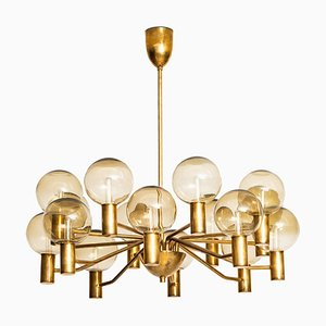 Swedish Model T372 / 16 Patricia Ceiling Lamp by Hans-Agne Jakobsson for Hans-Agne Jakobsson AB, 1950s