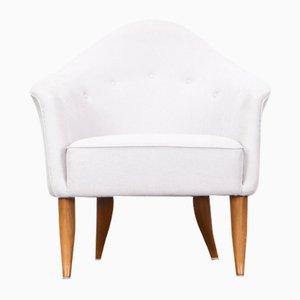 Weiße Sessel von Kerstin Hörlin-Holmquist für Nordiska Kompaniet, 1960er, 2er Set