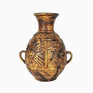 Große Vase von Jasba, 1960er