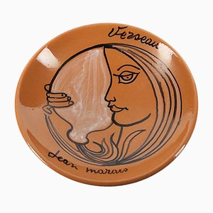 Aquarius Ashtray by Jean Marais, 1970s