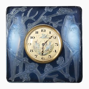 Clock by R. Lalique, 1930s
