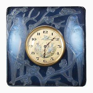 Horloge par René Lalique, années 30