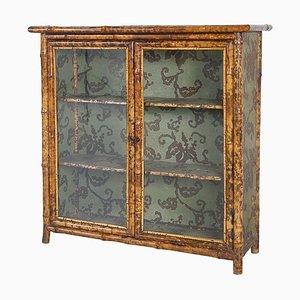 Antique Victorian Anglo-Japanese 2-Door Cabinet