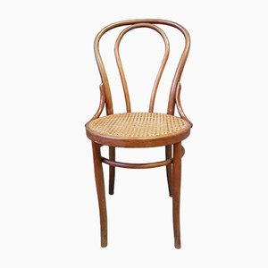 Antique Bentwood Dining Chair from Fiume, 1950s