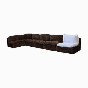 Modular Sofas by De Pas, D'Urbino & Lomazzi for Zanotta, 1980s, Set of 6
