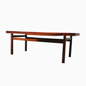 Rosewood & Teak Extendable Coffee Table, 1960s