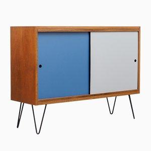 Kleines Mid-Century Walnuss Sideboard