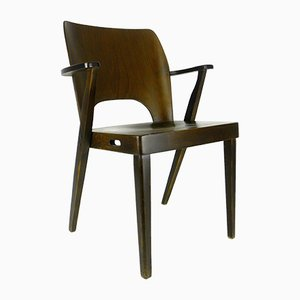 Mid-Century Stackable Armchair by Otto Niedermoser for Austro Sessel