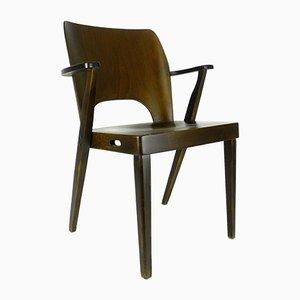 Stapelbarer Mid-Century Armlehnstuhl von Otto Niedermoser für Austro Sessel