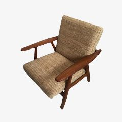 Model GE240 Cigar Chair by Hans J. Wegner for Getama