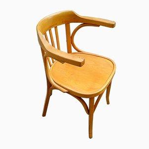 Sedia da scrivania nr. 21 in faggio di Baumann, anni '60