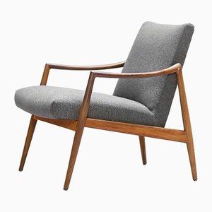Mid-Century Teak Lounge Chair by Gustav Herkströter for Lübke, 1960s