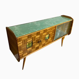 Mid-Century Palisander Sideboard von Vittorio Dassi, 1950er