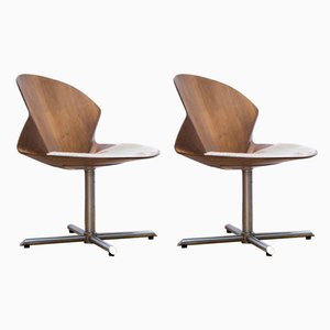 Rex Easy Chairs by Christina Strand for Fredericia Furniture, 2000s, Set of 2