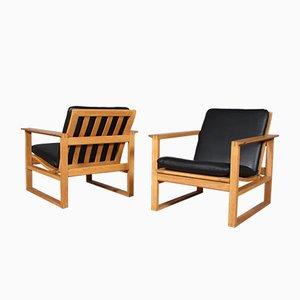 Mid-Century Modell 2256 Sessel von Børge Mogensen für Fredericia