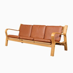 Mid-Century Model 236/3 3-Seater Sofa by Hans J. Wegner for Getama