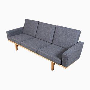 Mid-Century Modell 236/3 3-Sitzer Sofa von Hans J. Wegner für Getama