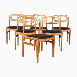 Esszimmerstühle von Johannes Andersen, 1960er, 6er Set