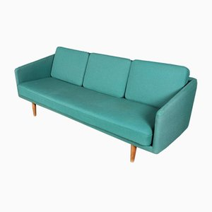 Vintage Model 201 3-Seater Sofa by Børge Mogensen for Fredericia, 1960s