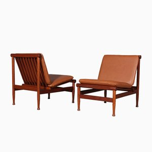 Teak Model 501 Lounge Chair by Kai Lyngfeldt Larsen, 1960s