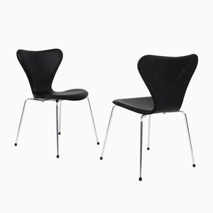 Mid-Century Model 3107 Dining Chair by Arne Jacobsen for Fritz Hansen