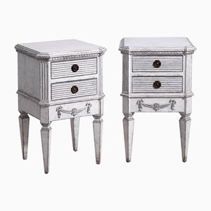Antique Gustavian Style Dressers, Set of 2
