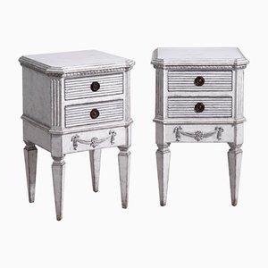 Commodes Style Gustavien Antiques, Set de 2