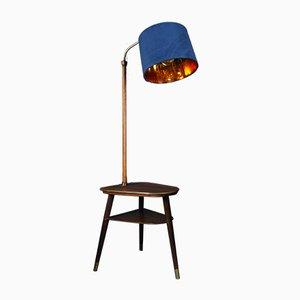 Rosewood Reading Floor Lamp, 1950s