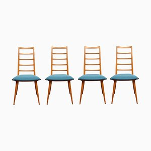 Dining Chairs by Dettinger for Lübke, 1950s, Set of 4