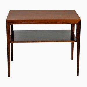 Tavolini in palissandro di Severin Hansen per Haslev Møbelsnedkeri, anni '60, set di 2