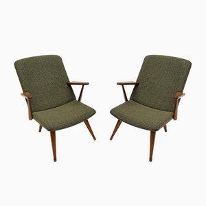 Swedish Lounge Chairs from Akerblom, 1950s, Set of 2